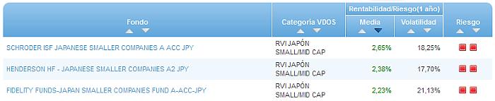 Buscando fondos: RVI Japón Small/Mid Cap