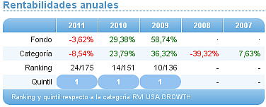 renta variable internacional usa growth
